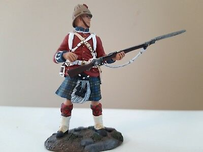 Britains 42nd highlanders black watch nile sudan egyptian war 1:32 metal boxed