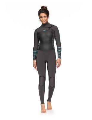 3/2mm Syncro Plus wetsuits Combinaison surf zip poitrine ROXY ERJW103026 XSSB