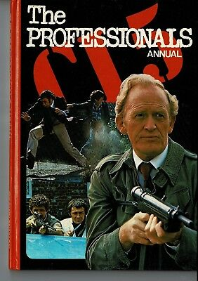 Vintage TV Annual THE PROFESSIONALS 1978 - Unclipped