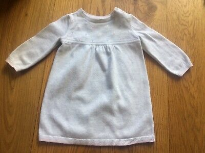 The Little White Company , pretty baby girl's dress 0-3 Months - only worn twice