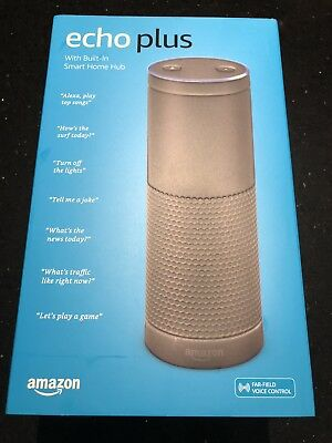 Amazon Echo Plus - Built In Smart Home Hub - Black (NEW)