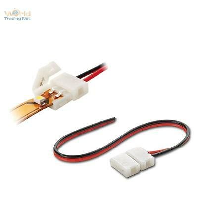 5 x Quick - Connection Cable for 2pol SMD Led Stripe Bows Connection Cable 15cm