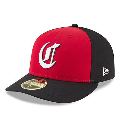Cincinnati Reds New Era Low Profile MLB Prolight Fitted Cap Size - 7 3/8