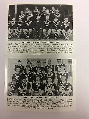 1967 DAILY MIRROR CARD Rugby League Cards FULL SET+