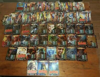 Dr Who Battles In Time Trading Cards, Over 200 Cards In Rare, Super Rare & Ultra