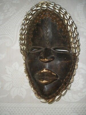 "Vintage tribal mask ""Dan'-one of a pair-(the female)"