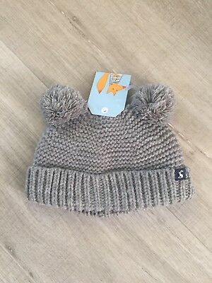 Baby Joules Pom Pom Hat 6-12 Months