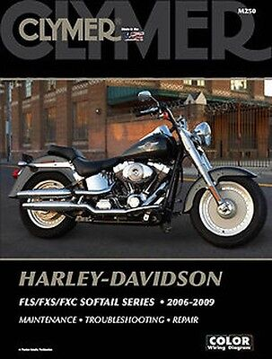 Harley Davidson FXSTSSE2 3 Screamin' Eagle Softail Springer Clymer Manuale M250