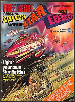 Star Lord #3 Includes Free Gift Battle Game VFN
