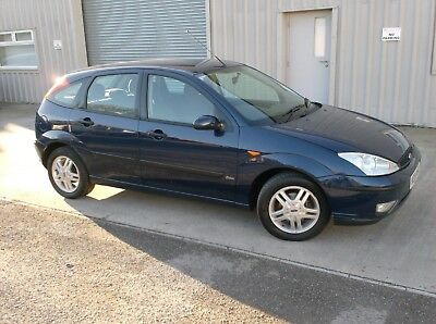 "Ford Focus Zetec 1.6   ,2004 ""04"" Plt  Ink Blue  Metallic,"