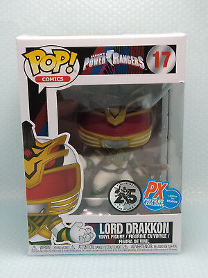 Funko Pop Lord Drakkon # 17 Power Rangers PX Previews Exclusive (Protector)