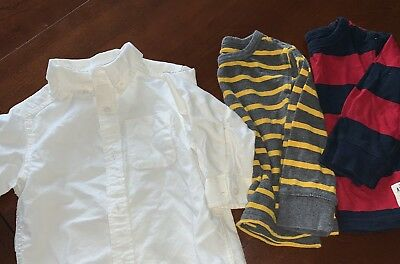 Toddler Boys The Children's Place 18-24m/ 2T, 3 Shirts: 1 Collared+ 2long-sleeve