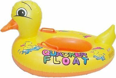 Baby Kids Toddler Swimming Trainer Inflatable Seat Ring Yellow Duck 2-5Y