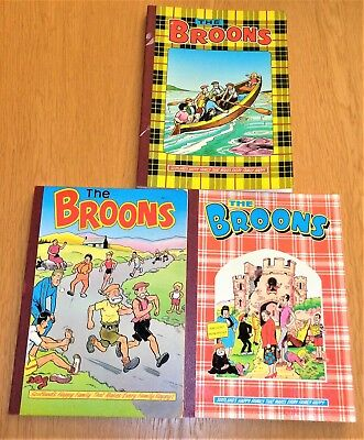 3  The Broons Annuals  1983/1985/1989