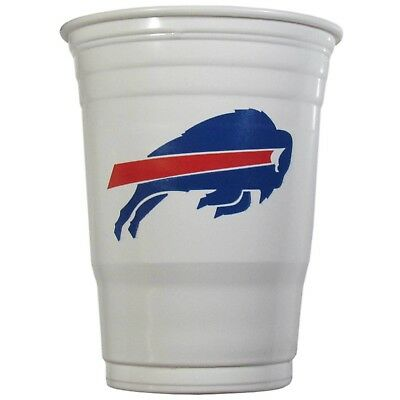 Buffalo Bills Plastic Gameday Cups 18Oz 18Ct Solo Tailgate Party Supplies Game
