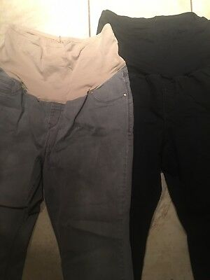 Old Navy Maternity Jeans 2 PAIRS! Size 18 Skinny L@@k!!
