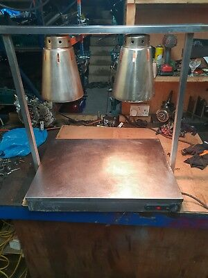Parry Heater Carvery Servery With Heated Base Plate And Two Heat Lamps