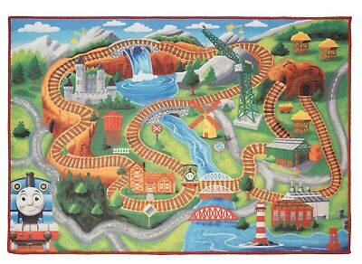 "NEW Thomas & Friends Game Rug (31.5"" X 44"")"