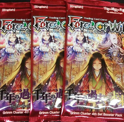 The Millennia of Ages Booster Pack x3 Force of Will New