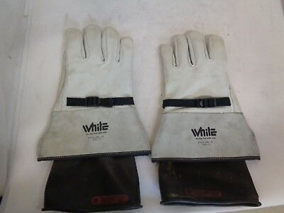 White Lpbc-12 Size 11 Welding-Arv Gloves Includes Incerts
