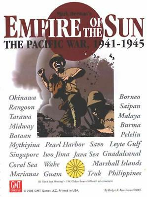 GMT Card-Driven  Empire of the Sun - The Pacific War, 1941-1945 (1st Ed Box VG+