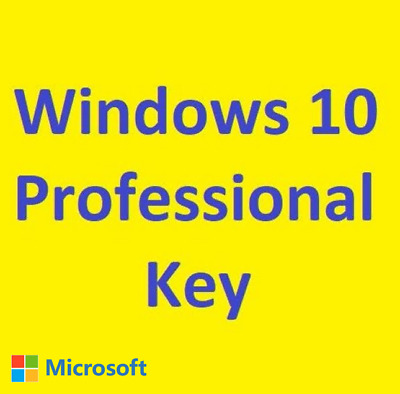 Windows 10 Professional Win 10 Pro 32 & 64 Bit Product Key Produktschlüssel