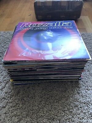 """66 OLD SKOOL HOUSE RAVE TECHNO DANCE 12"""" VINYL RECORD COLLECTION JOB lOT"""