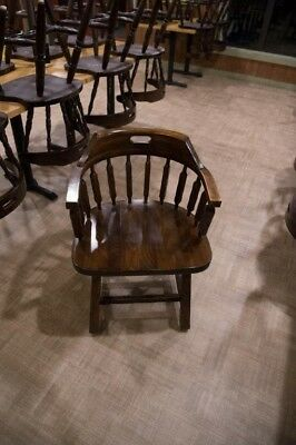 Wood Captains Restaurant Chairs