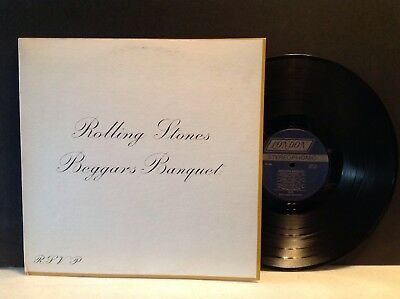 The Rolling Stones Beggars Banquet LP Record NM- Beautiful!