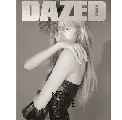 Dazed Korea Magazine 2019 February BLACKPINK LISA Photo Whole Book Tracking - B
