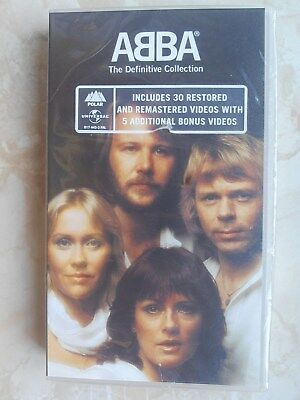 * ABBA *    VHS  The Definitive Collection