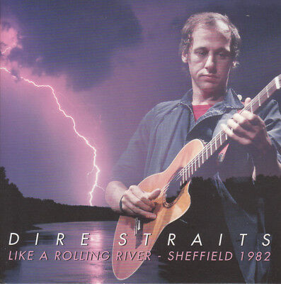 """Dire Straits """" Like A Rolling River - Sheffield 1982, 2 Cd's"""