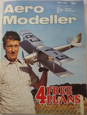 AERO MODELLER  MAY 1978 - Vintage Model Aircraft Magazine, With Plans.