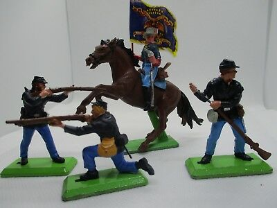 Vintage Britains Deetail American Civil War  Nice Lot