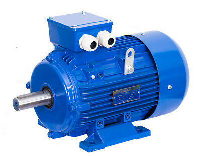 Electric Motor 4KW (5.5HP) 3 PHASE 2 POLE 2800RPM Mounted B3 112 Frame Size