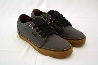 Mens Vans Chukka Low PRO Hemp Dark Grey Gum Tribal Pattern Inside Size 9 NEW c79c16716