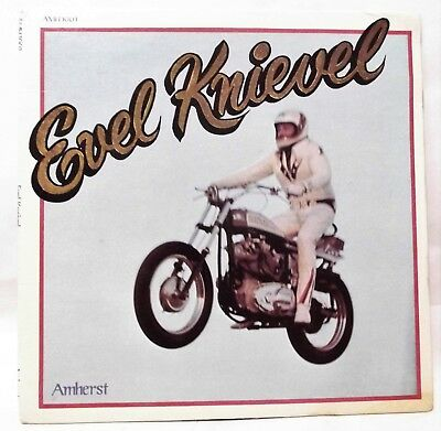 Used EVEL KNIEVEL Record Vinyl LP '1974 Amherst Records