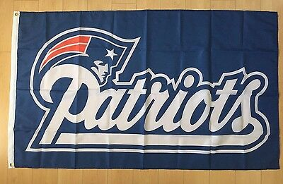 New England Patriots 3x5 ft Flag Banner NFL