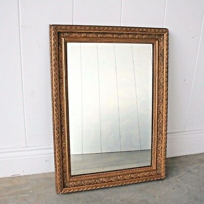 Antique Vintage Mirror (70cm x 52cm) - Ideal for Bathroom Dressing Table Bedroom
