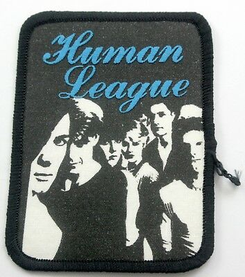 THE HUMAN LEAGUE 'Group' Vintage Printed Patch