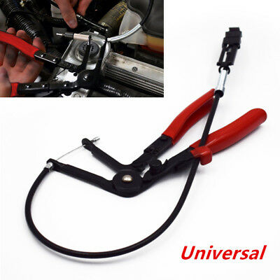 Flexible Wire Long Reach Hose Clamp Plier Auto Fuel Oil Water Pipe Repair Tool