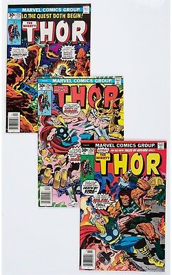 Thor Group (Marvel, 1976-80) Condition: Average NM.... (Total: 100 Comic Books)