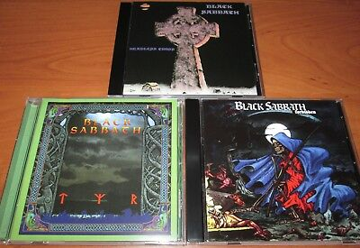 3CD set  BLACK SABBATH ‎- Headless Cross / Tyr /‎ Forbidden