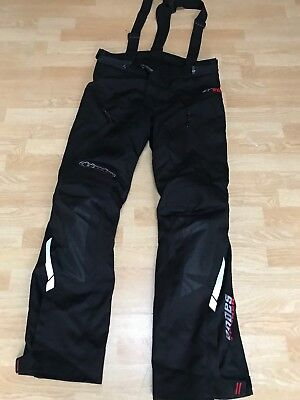 New V2 Alpinestars Andes Drystar Waterproof Textile Motorcycle black S Trousers