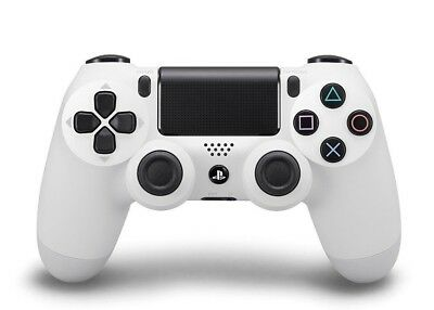 Official PlayStation 4 Dualshock 4 Wireless Controller- Glacier White