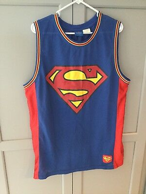 887f9943e86 BATMAN DC COMICS sleeveless basketball jersey size XL 46-48 mens ...