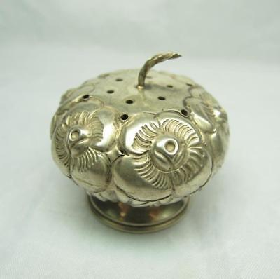 Vintage Hecho En Mexico Sterling Silver Salt shaker With Eagle