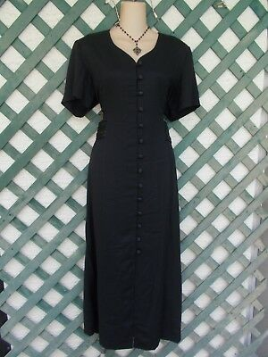 Sophia Rose Lil Black Maxi Dress 16-18 Church Career Wedding Evening