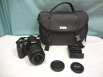 Nikon D3100 14.2MP Digital SLR Camera - Black Kit with AF-S DX 18-55mm VR Lens