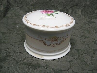 The Royal Horticultural Society Queen's Fine Bone China Redoutes Rosa Container